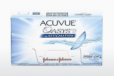 Contact Lenses Johnson & Johnson ACUVUE ADVANCE for ASTIGMATISM AGT-6P-REV