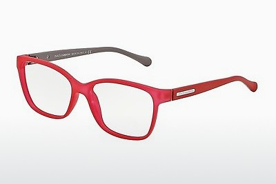 Eyewear Dolce & Gabbana OVER-MOLDED RUBBER (DG5008 2818) - Red, Transparent