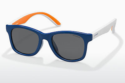 Ophthalmic Glasses Polaroid Kids PLD 8001/S T20/Y2 - Blue, Orange